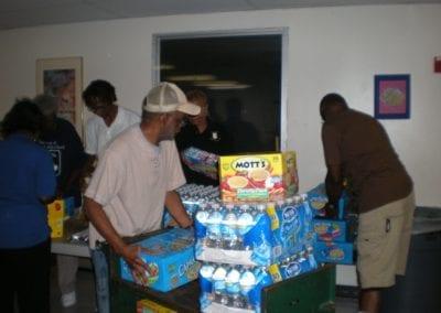 Group at shelter 6-28-08 a