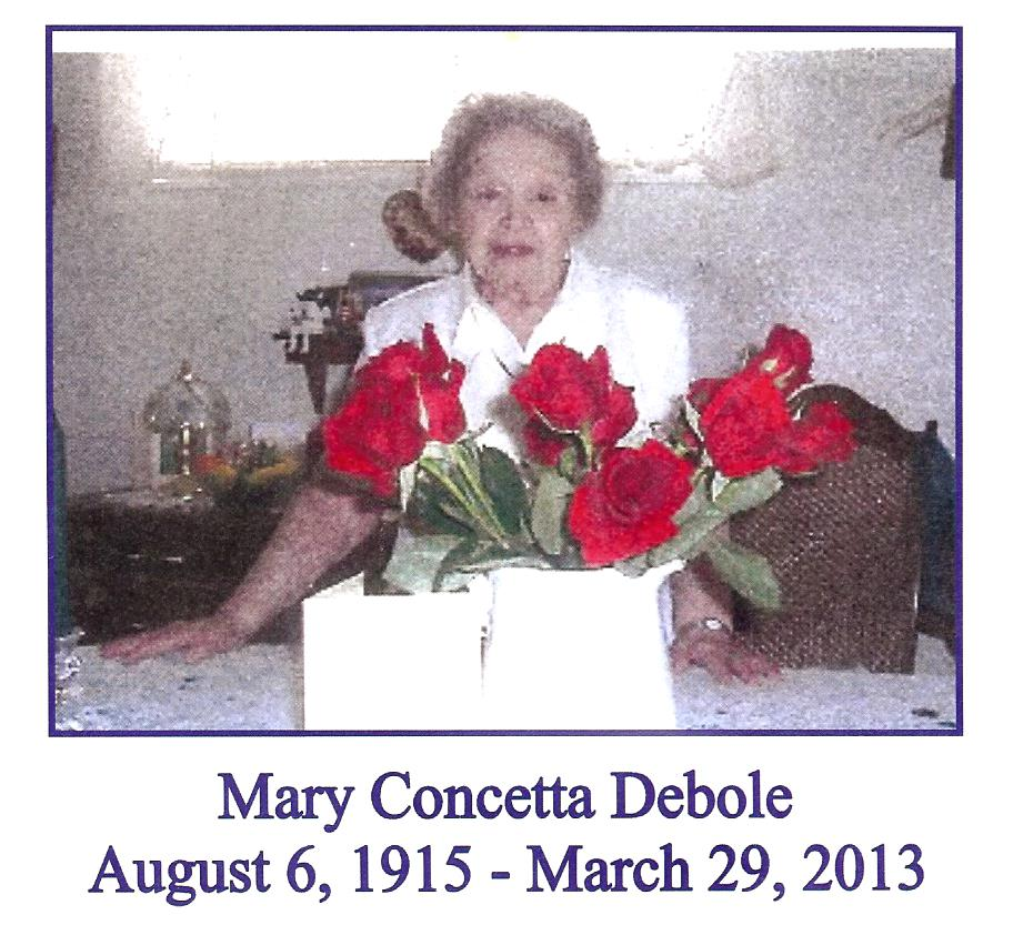 In Memory of Mary C. Debole – St. John Baptist de la Salle Catholic Church